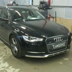 Установка противоугонного комплекса на автомобиль Audi A6 allroad