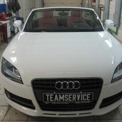 Установка спутниковой охранно-поисковой системы на автомобиль Audi TT