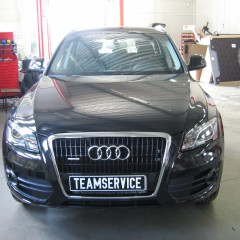 Установка авторского охранного комплекса на автомобиль Audi Q5