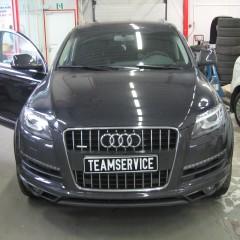 Установка спутниковой охранно-поисковой системы на автомобиль Audi Q7