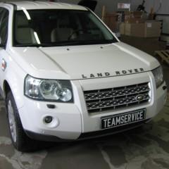 Установка авторского противоугонного комплекса на Land-Rover Freelander