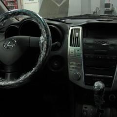 Противоугонный комплекс на Lexus RX 350