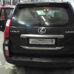 Авторская защита от угона Lexus GX