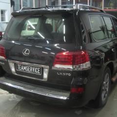 Авторский охранный комплекс на Lexus LX
