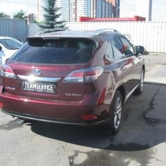 Авторская защита от угона Lexus RX