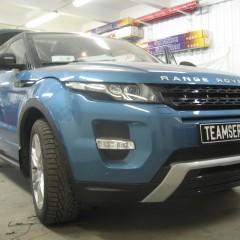 Авторская защита от угона Range Rover Evoque