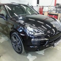 Авторская защита от угона Porsche Cayenne
