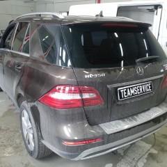 Защита от угона Mercedes ML