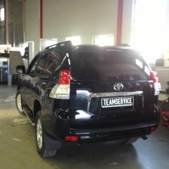 Авторская защита от угона Toyota LC Prado