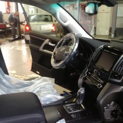 Авторская защита от угона Toyota LC 200