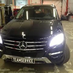 Авторская Защита от угона Mercedes ML