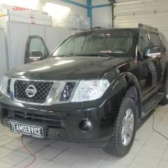 Установка Webasto на Nissan Pathfinder