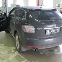 Авторская защита от угона Mazda CX-7