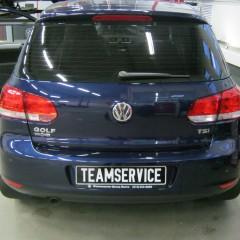 Охранный комплекс на VW Golf