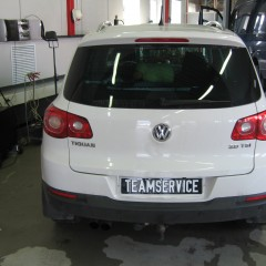 Противоугонный комплекс на VW Tiguan