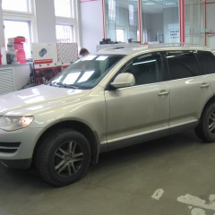 Защита от угона VW Touareg