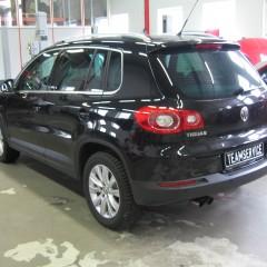 Авторский противоугонный комплекс на VW Tiguan