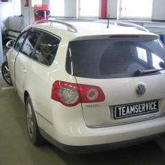 Установка сигнализации VW Passat